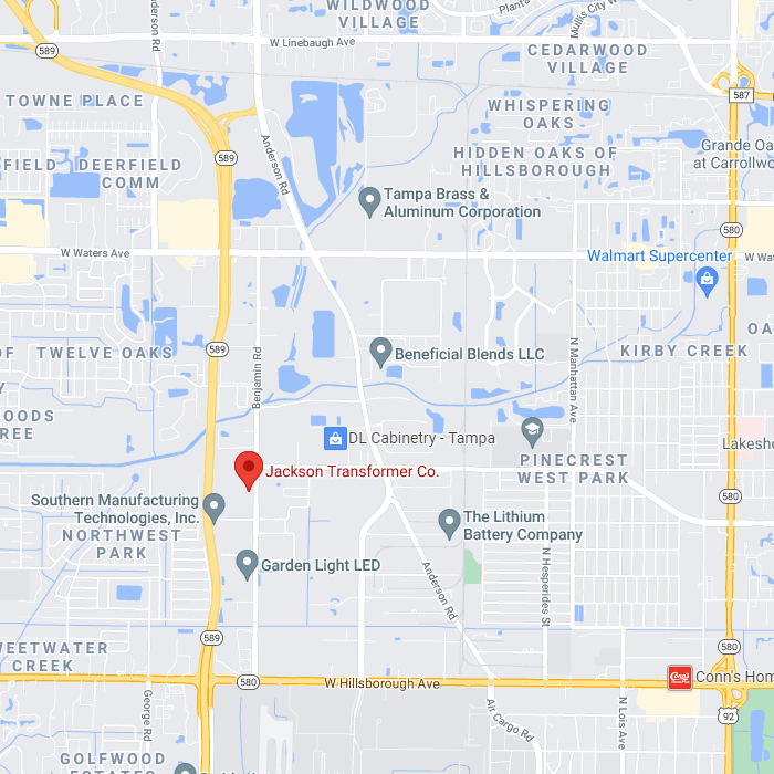 Jackson Transformer Location on Map