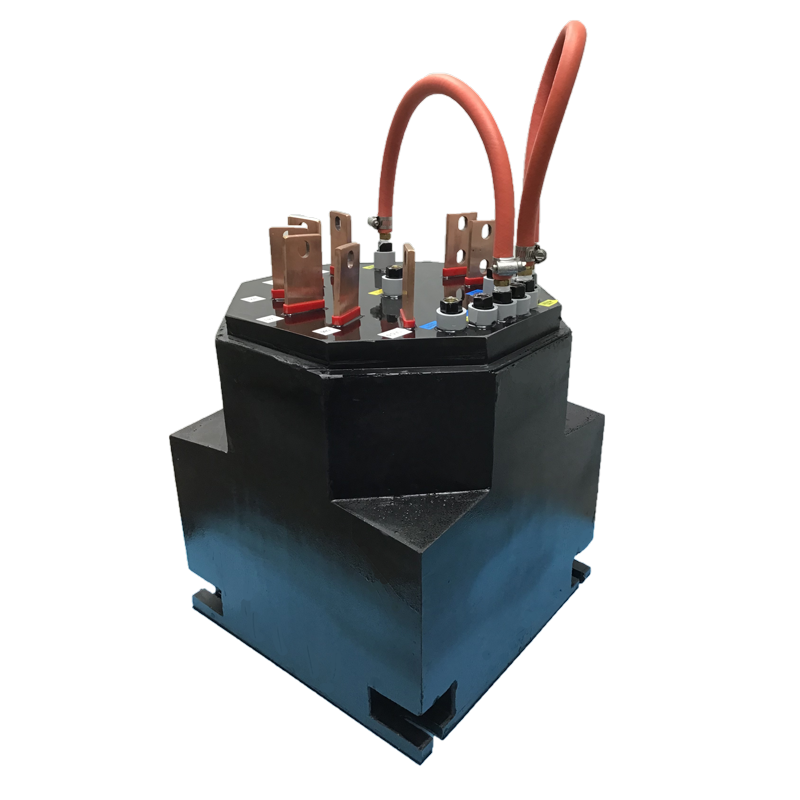 Transinductor manufactured by Jackson Transformer Company.